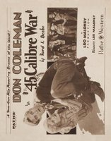 The Forty-Five Caliber War movie poster (1929) picture MOV_ec03a5aa