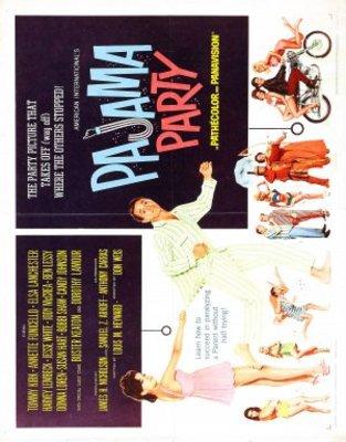 Pajama Party movie poster (1964) poster MOV_ec2131fb