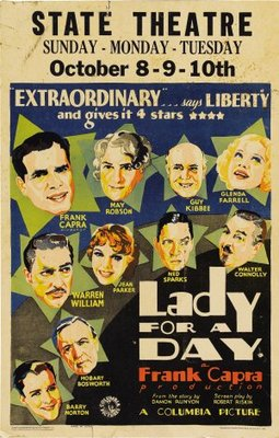 Lady for a Day movie poster (1933) poster MOV_ec225b05
