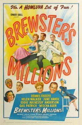 Brewster's Millions movie poster (1945) poster MOV_ec2367f3
