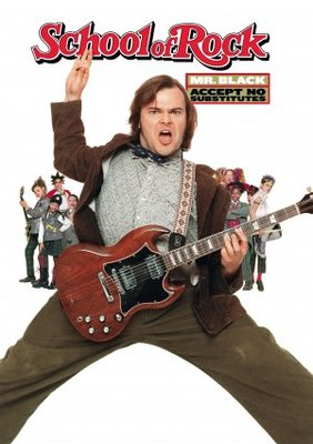 The School of Rock movie poster (2003) poster MOV_ec2c6cc5