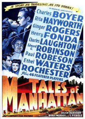 Tales of Manhattan movie poster (1942) poster MOV_ec3471cb