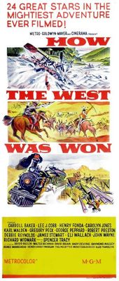 How the West Was Won movie poster (1962) poster MOV_ec61cd99