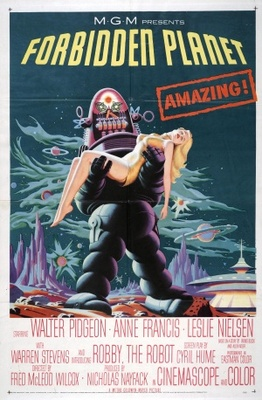 Forbidden Planet movie poster (1956) poster MOV_ec6d0fd1