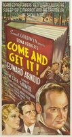 Come and Get It movie poster (1936) picture MOV_ec73fa97