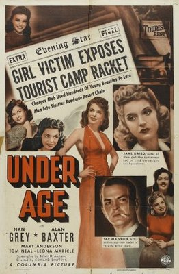 Under Age movie poster (1941) poster MOV_ec81d445