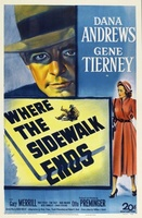 Where the Sidewalk Ends movie poster (1950) picture MOV_ec8bb38c
