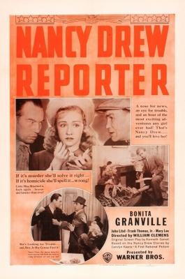Nancy Drew... Reporter movie poster (1939) poster MOV_ec94a6f6