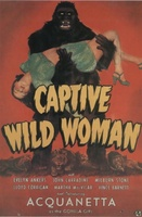 Captive Wild Woman movie poster (1943) picture MOV_ec989a58