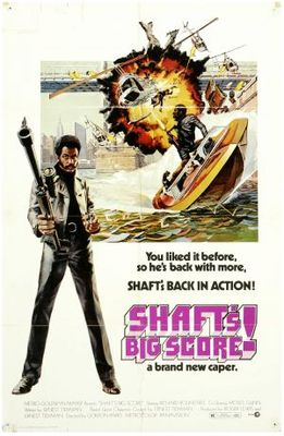 Shaft's Big Score! movie poster (1972) poster MOV_ec98a707