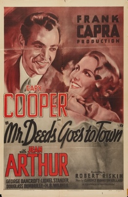 Mr. Deeds Goes to Town movie poster (1936) poster MOV_eca0a49c