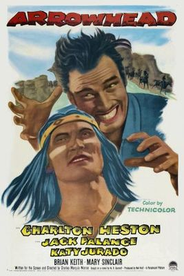 Arrowhead movie poster (1953) poster MOV_eca65b89