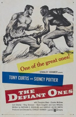 The Defiant Ones movie poster (1958) poster MOV_eca691d9