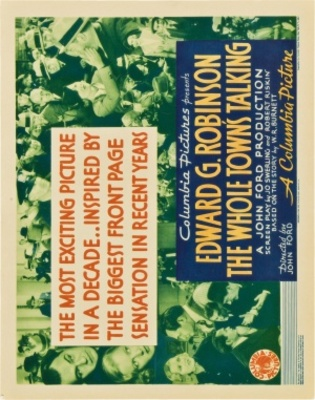 The Whole Town's Talking movie poster (1935) poster MOV_eca9743e