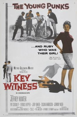 Key Witness movie poster (1960) poster MOV_ecb5c6b6