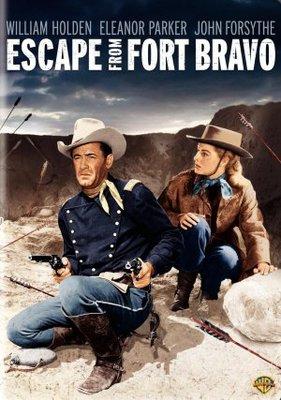 Escape from Fort Bravo movie poster (1953) poster MOV_ecc664bc