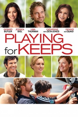 Playing for Keeps movie poster (2012) poster MOV_ece8d453