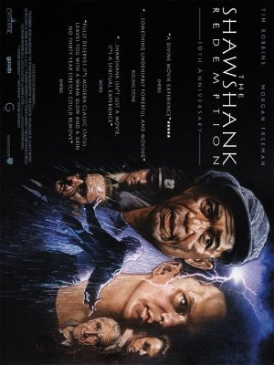 The Shawshank Redemption movie poster (1994) poster MOV_ecf81776