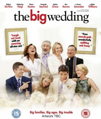 The Big Wedding movie poster (2012) poster MOV_ecfc8979