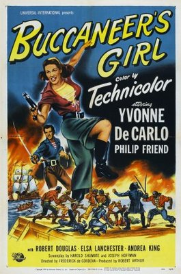 Buccaneer's Girl movie poster (1950) poster MOV_ed112e28