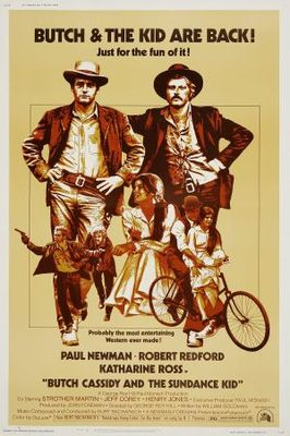 Butch Cassidy and the Sundance Kid movie poster (1969) poster MOV_ed3cb17f