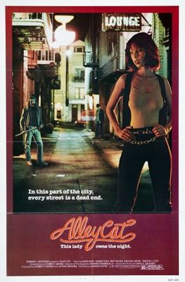 Alley Cat movie poster (1984) poster MOV_ed83ad93