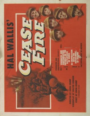 Cease Fire! movie poster (1953) poster MOV_ed893d98