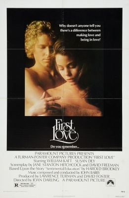 First Love movie poster (1977) poster MOV_ed89c577