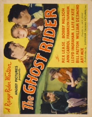 The Ghost Rider movie poster (1935) poster MOV_ed8a2bb5