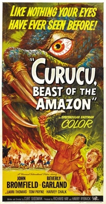 Curucu, Beast of the Amazon movie poster (1956) poster MOV_ed9e9b15