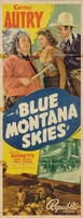Blue Montana Skies movie poster (1939) picture MOV_edb8d3f8