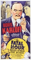 The Fatal Hour movie poster (1940) picture MOV_edbcb086
