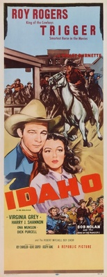 Idaho movie poster (1943) poster MOV_ee0afa18