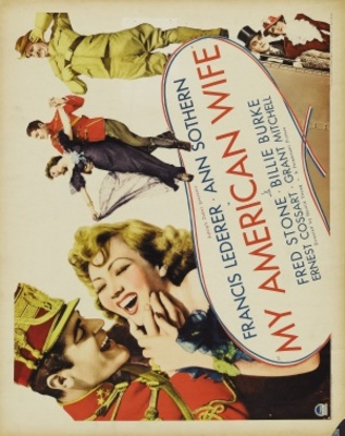 My American Wife movie poster (1936) poster MOV_ee0f9546