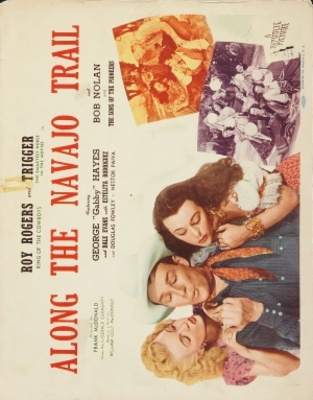 Along the Navajo Trail movie poster (1945) poster MOV_ee1170a4