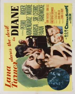 Diane movie poster (1956) poster MOV_ee1e941b