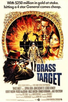 Brass Target movie poster (1978) poster MOV_ee27ba45
