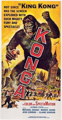 Konga movie poster (1961) poster MOV_ee27d689