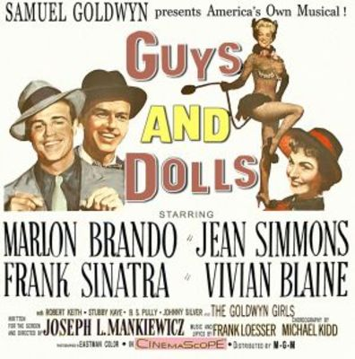 Guys and Dolls movie poster (1955) poster MOV_ee385926