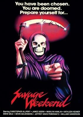 Savage Weekend movie poster (1979) poster MOV_ee40fd17