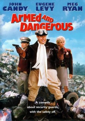 Armed and Dangerous movie poster (1986) poster MOV_ee41341b