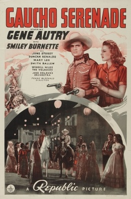 Gaucho Serenade movie poster (1940) poster MOV_ee5c8d9b