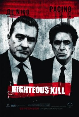 Righteous Kill movie poster (2008) poster MOV_ee6a5504