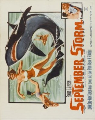 September Storm movie poster (1960) poster MOV_ee75f068