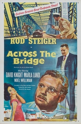 Across the Bridge movie poster (1957) poster MOV_ee7a5ed5