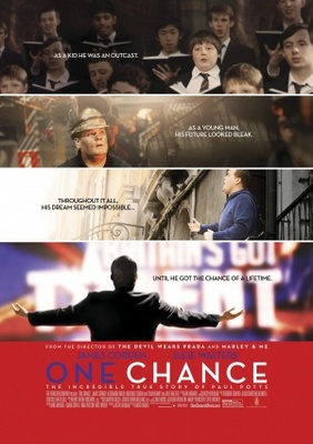 One Chance movie poster (2013) poster MOV_ee8fead7