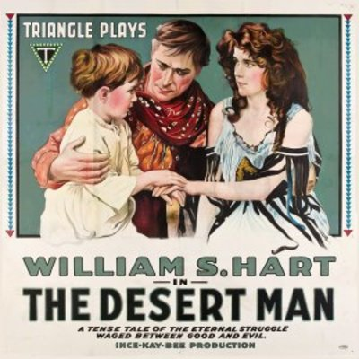 The Desert Man movie poster (1917) poster MOV_ee9950f5