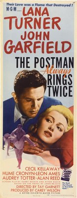 The Postman Always Rings Twice movie poster (1946) poster MOV_ee9a7719