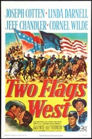 Two Flags West movie poster (1950) picture MOV_eeacdaaa