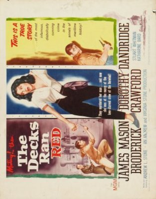 The Decks Ran Red movie poster (1958) poster MOV_eecee2c4